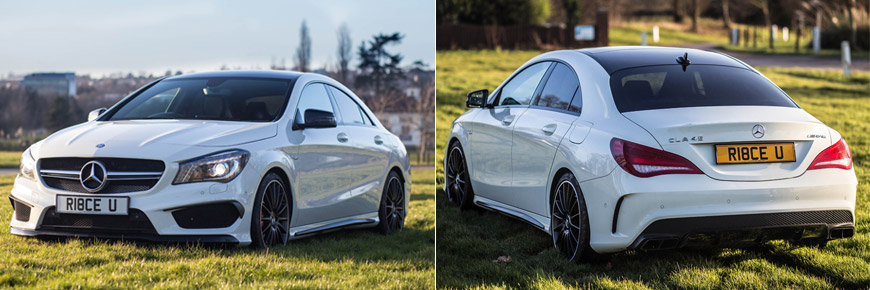 2014-White-Mercedes-CLA45-AMG